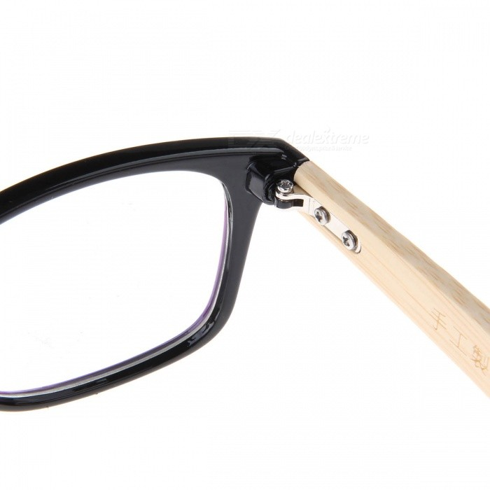 Glasses Frames Earpiece : Fashion Computer Radiation Protection Bamboo Earpiece ...