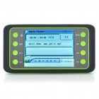 "JXD 800 Portable 2.8"" LCD Media Player w/ Camera/FM/AV-Out/TF - Black + Green (2GB)"