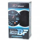 "Defi-Link Meter BF 2.5"" White & Red Light Boost Gauge for Racing Cars"