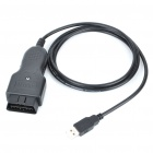 OBD Porsche Piwis Cable Car Diagnostic Cable - Black