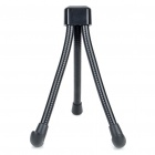 Fashion Flexible Tripod Stand Holder Support for Samsung P1000/Apple iPad/Tablet PC - Black