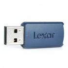 Lexar USB Flash Drive with Blue LED Indicator (8GB)