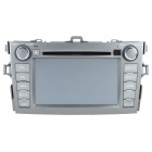 "7.0"" Touch Screen Car DVD Player + WinCE 5.0 GPS Navigator w/ FM/Bluetooth/2xTF for Toyota Corolla"