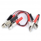 Alligator Positive and Negative Battery Clamps Cables for Car