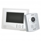 "7"" LCD Video Door Phone w/ 6-LED IR Night Vision"