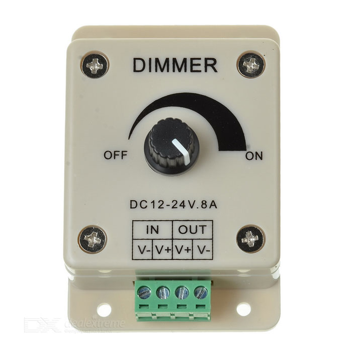 Dimming Controller for LED Lights (DC 12~24V)
