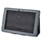 Protective PU Leather Case for Asus Eee Pad Transformer TF101 - Black
