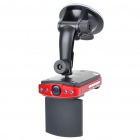 "GN002 CMOS 2MP Wide Angle Car DVR Camcorder w/ 4-LED IR Night Vision/AV-Out/SD Slot (2.5"" TFT LCD)"