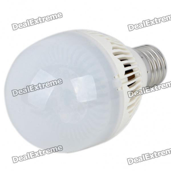 E27 3W 3200K 210-Lumen 3-LED Warm White Light Energy Saving Bulb (AC 220~240V) - DXE27<br>Material: Plastic Emitter Type: LED Total Emitters: 3 Power: 3W Color BIN: Warm White Rated Voltage: AC 220~240V 50/60Hz Luminous Flux: 210LM Color Temperature: 3000~3200K Connector Type: E27 Service life: 20000 hours Accessory: English manual included<br>