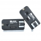 FSK 2.4GHz Wireless Flash Trigger Transmitter Receiver Kit for Nikon DSLR (2 x AAA/2 x AAA)