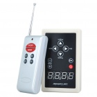 "1.6"" 4-Digit LED 2.2W 93-Mode LED Controller w/ Remote Control for ZJ168 Drive LED (DC 12V)"