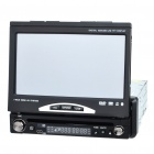 "7.0"" Resistive Screen Single Din DVD Player w/ Win CE5.0 GPS/FM/Bluetooth/SD Slot"