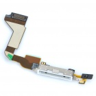 Genuine Replacement Dock Connector w Microphone/Flex for Iphone 4 White