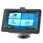 "7.0"" Touch Screen WinCE 6.0 GPS Navigator w/ Rearview Camera/Bluetooth/AV-In/4GB Maps TF Card"