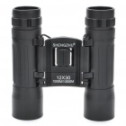 Mini 10x30 Binoculars with Strap - Black
