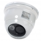 "1/3"" SONY CCD Wired Surveillance Security Camera w/ IR Night Vision (PAL)"