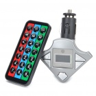 "0.7"" LCD Car MP3 Player FM Transmitter w/ Remote Control/FM/USB/TF Slot (DC 12V)"