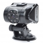 "3.0MP Wide Angle Car DVR Camcorder w/ 8-IR LED/TF Slot (2.0"" TFT)"