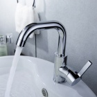 Stylish Chromed Copper Faucet Water Tap - Silver