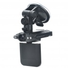 "720P Wide Angle Car DVR Camcorder w/ 4-LED IR Night Vision/HDMI/SD Slot (2.5"" TFT LCD)"