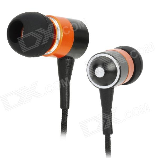 AWEI ES-Q3 In-Ear Earphone for IPHONE / MP3 - Black (3.5mm Jack/130cm)