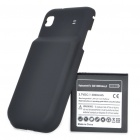 Replacement High Capacity 3.7V 3000mAh Battery Pack with Back Case for Samsung i9000