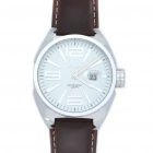Fashion Water Resistant Stainless Steel Wrist Watch w/ Calendar (1 x LR626)