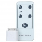 Wireless Volume Remote Control for iPhone 3G/3GS/4 - White (1 x CR2025)