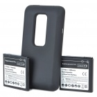 Replacement 3.7V 1800mAh/3.7V 3500mAh Batteries w/ Battery Cover Set for HTC EVO 3D