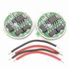 3.6V 5-Mode 3W Circuit Board for Flashlights (1000mA 3.7V Output/2-PCS)