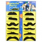 12 Costume Fake Mustaches