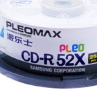 Pleomax CD-R 52X 700MB 80-Min CD Writable (25-Disc Spindle)