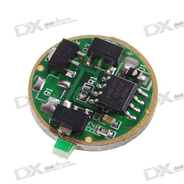 16-Mode 3W 3.7V 7135 Circuit Board for Cree and SSC Emitters (3.7V 1000mA Output)