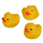 Rubber Ducky Bathtub Toys (4-Pack)