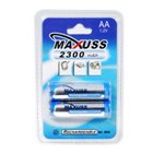 Maxuss 1.2V 2300mAh Ni-MH AA Rechargeable Batteries (2-Pack)