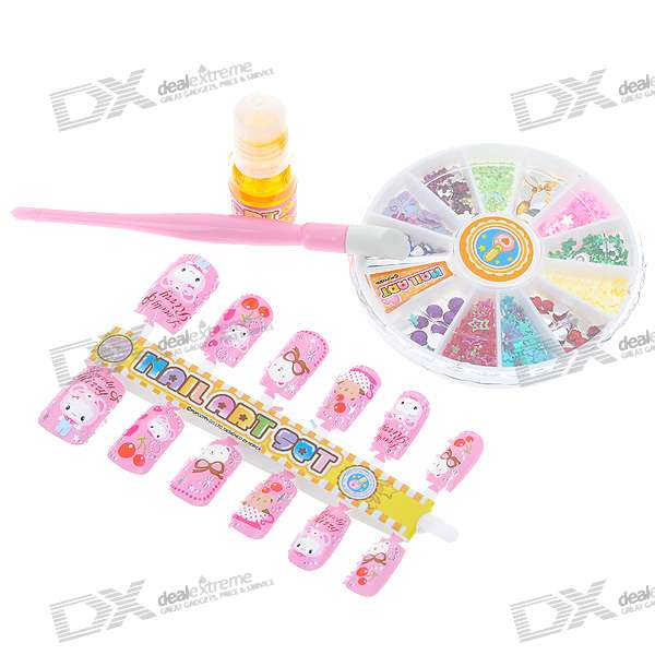 Nail Art Beads Set (Assorted 2-Pack) - Free Shipping - DealExtreme