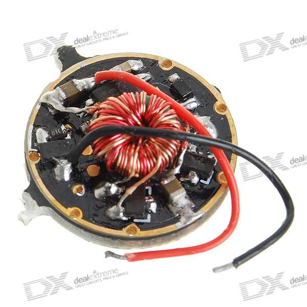 3W/5W 20-Mode Regulated Circuit Board for Flashlights