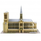 Buy CUBICFUN Intellectual Development DIY 3D Paper Puzzle Set - Notre Dame de Paris
