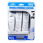 3-in-1 Wii Dual Charger Stand with 2x2800mAh Battery