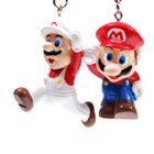 Cute Mario Figure Keychain (2-Pack)