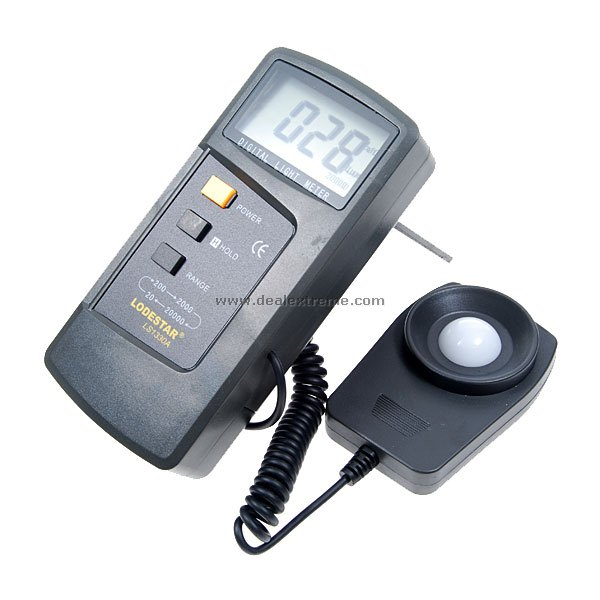 LodeStar Premium Digital Light Meter (20000 Lux)