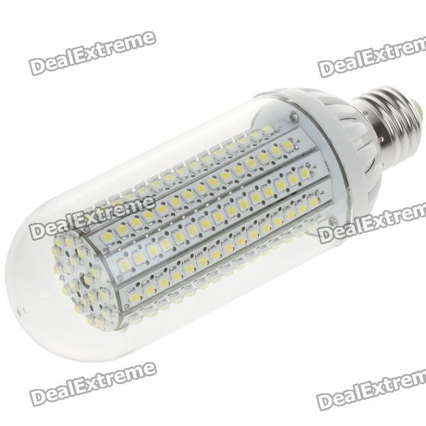 E27 12W 196-LED 1100 Lumen 6500K Energiespar White Light Bulb (AC 160 ~ 260V)