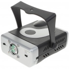 Green + Red Laser Stage Lighting Projector with 12-LED Blue Light & Tripod (100V~240V AC)