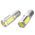 1157 1.5W*4 4-LED 210-Lumen Car Brake/Turning Signal White Light Bulbs (Pair/12V)