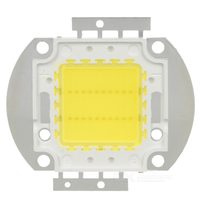 20W 1800LM LED Emitter Metal Plate (32~35V) - DXLeds<br>1800 Lumen output - Working voltage: 32~35V - Working current: 680±20mA - Color temperature: 7000±200K - Luminous flux: 1700~1800 lumen<br>