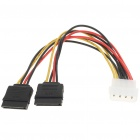 MOLEX to SATA Splitter Power Cable