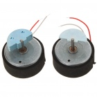 Replacement Repair Parts Drive Motors for PS3 Wireless Controller (2-Pack)