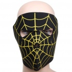 Spider Web Style Motorcycle/Hiking/Party Windproof Face Mask