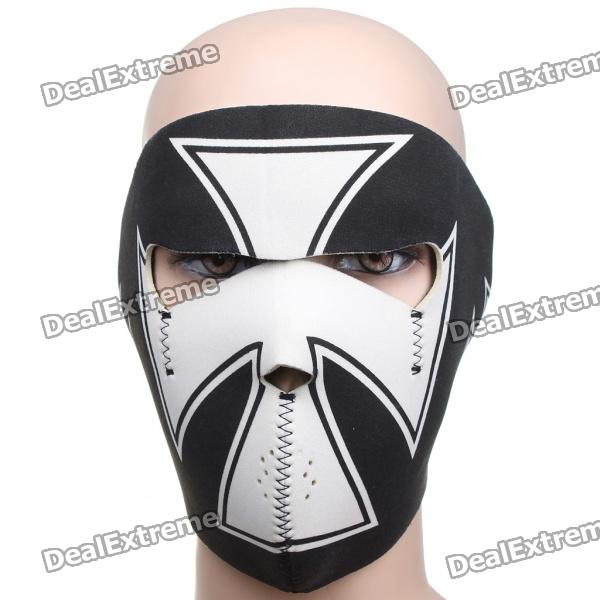 Cross Style Motorcycle/Hiking/Party Windproof Face Mask