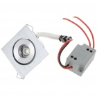 1W 80-90LM White LED Ceiling Lamp with LED Driver (220V)